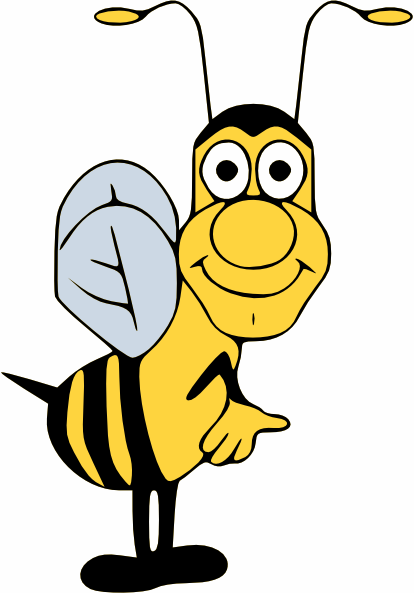 Bee clipart laughing picture library stock Funny Pict Bee - ClipArt Best picture library stock