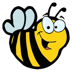 Bee clipart laughing jpg library Bee clipart laughing - ClipartFest jpg library
