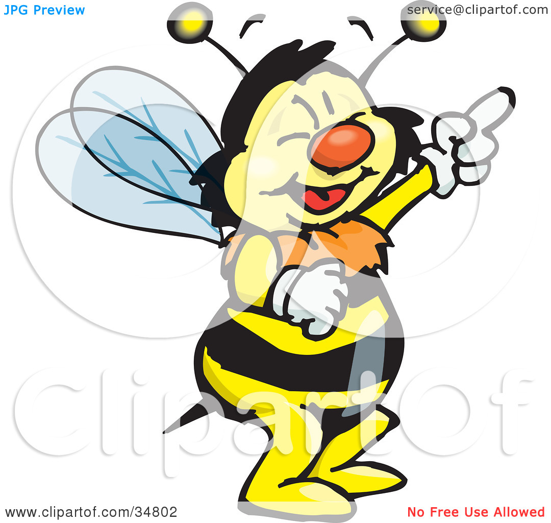 Bee clipart laughing png transparent download Clipart laughing bee - ClipartFest png transparent download