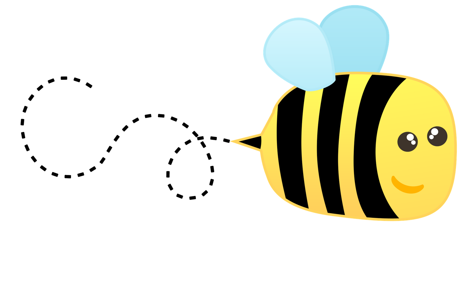 Bee clipart writing clipart library download Free Bee Border Cliparts, Download Free Clip Art, Free Clip Art on ... clipart library download