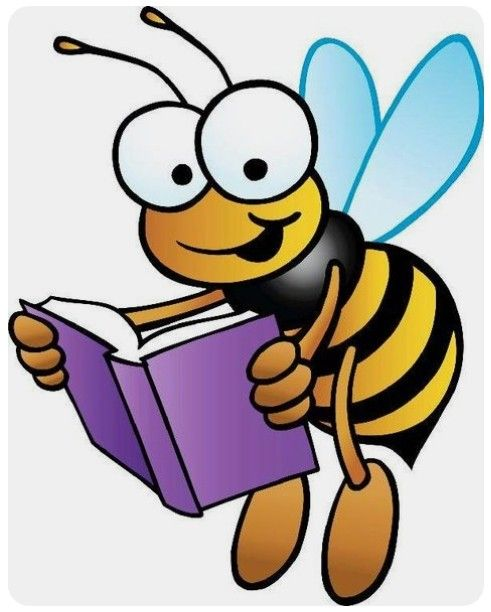 Bee clipart writing png royalty free library Pin by Carol Cahill on B is for Bee | Bee clipart, Honey bee facts ... png royalty free library