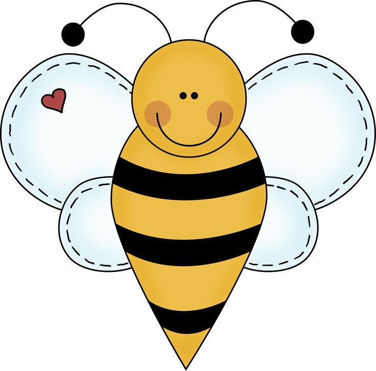 Bee clipart writing picture black and white library Bee Clipart For Teachers | Free download best Bee Clipart For ... picture black and white library
