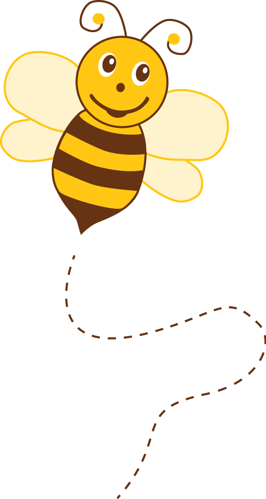 Bee with flower clipart clip art library library Photo by @kammytroquinhas - Minus | miód ,pszczółki | Pinterest ... clip art library library