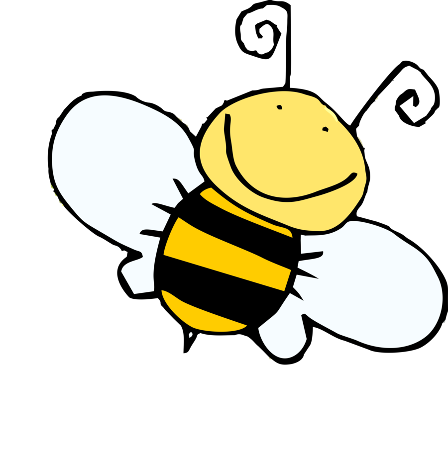Bee football clipart picture transparent stock Cute Honey Bee Drawing at GetDrawings.com | Free for personal use ... picture transparent stock
