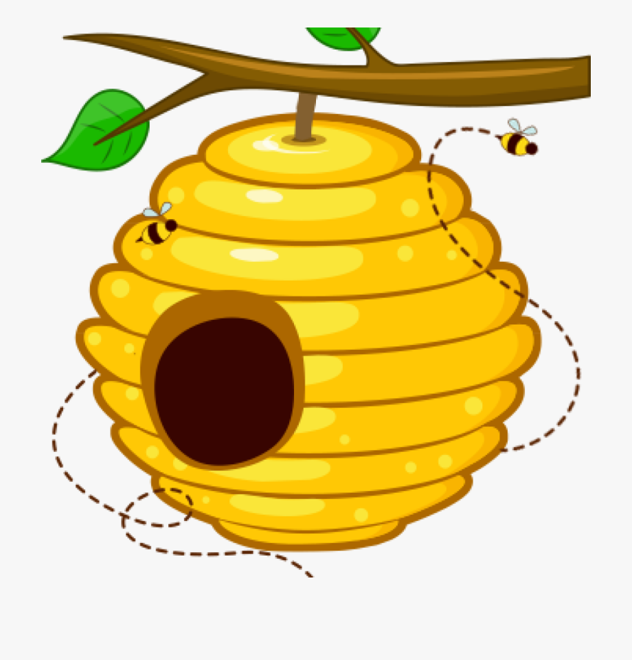 Free clipart bee hive. Beehive at getdrawings