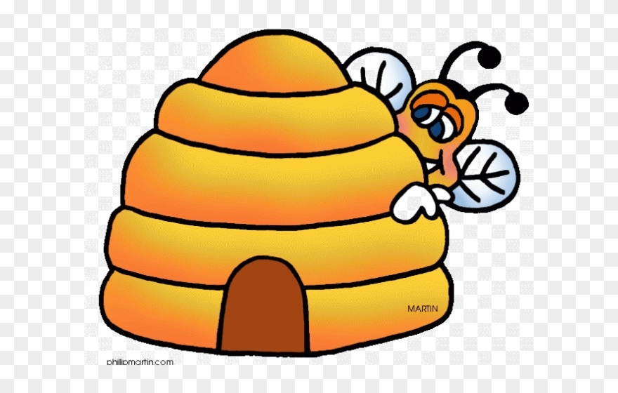 Bee hie clipart jpg black and white library Bee Hive Clipart Transparent - Honey Bee Hive Clip Art - Png ... jpg black and white library