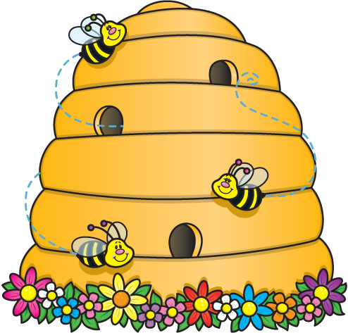 Bee hie clipart picture freeuse download Free Bee Hive Pictures, Download Free Clip Art, Free Clip Art on ... picture freeuse download