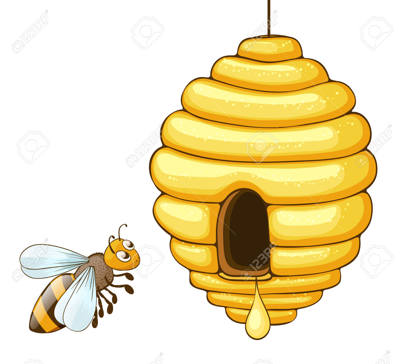 Bee hives in trees clipart picture transparent download Bee Hive Clipart | Free download best Bee Hive Clipart on ClipArtMag.com picture transparent download