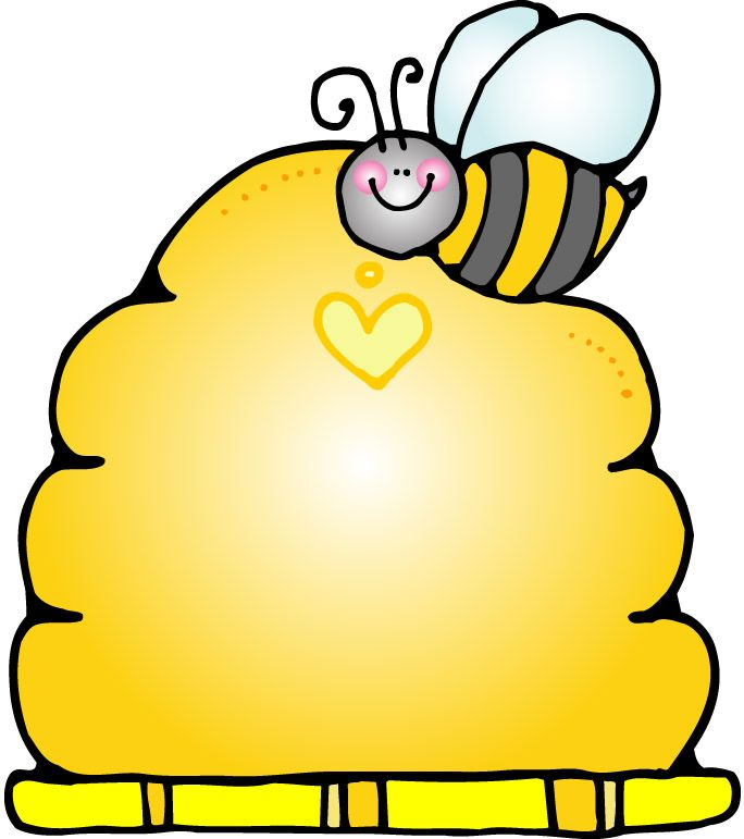 Bee hie clipart clipart download Beehive Template - ClipArt Best | bee | Bee clipart, Vintage bee ... clipart download