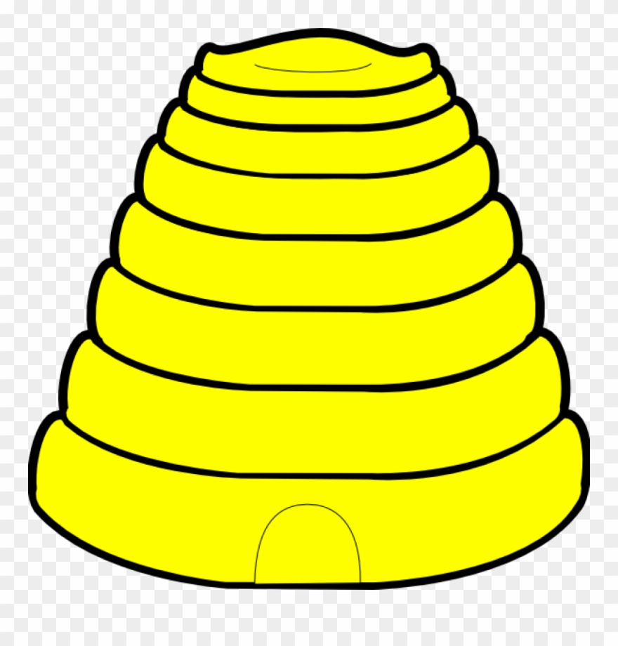 Bee hive image clipart clipart Beehive Clipart Free Images - Black And White Bee Hive - Png ... clipart