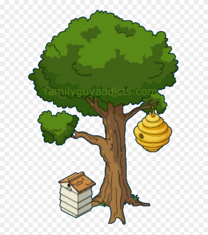 Bee hives in trees clipart vector library download Beehive On A Tree Clipart Www Pixshark Com Images Bee - Beehive ... vector library download