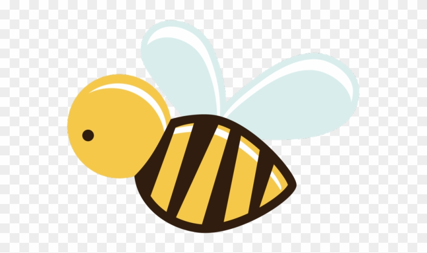 Bee image clipart logo png library stock Bee Clipart Hexagon - Cartoon Bee Transparent Background - Png ... png library stock