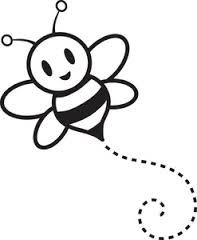Bee line clipart graphic transparent bee line | buzzed | Bee clipart, Cartoon bee, Bee drawing graphic transparent