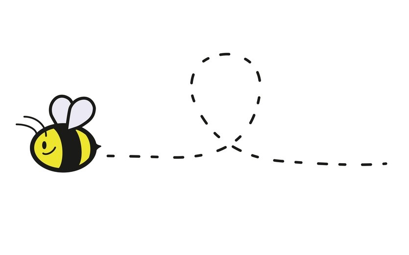 Bee line clipart vector black and white Bee line clipart 1 » Clipart Portal vector black and white