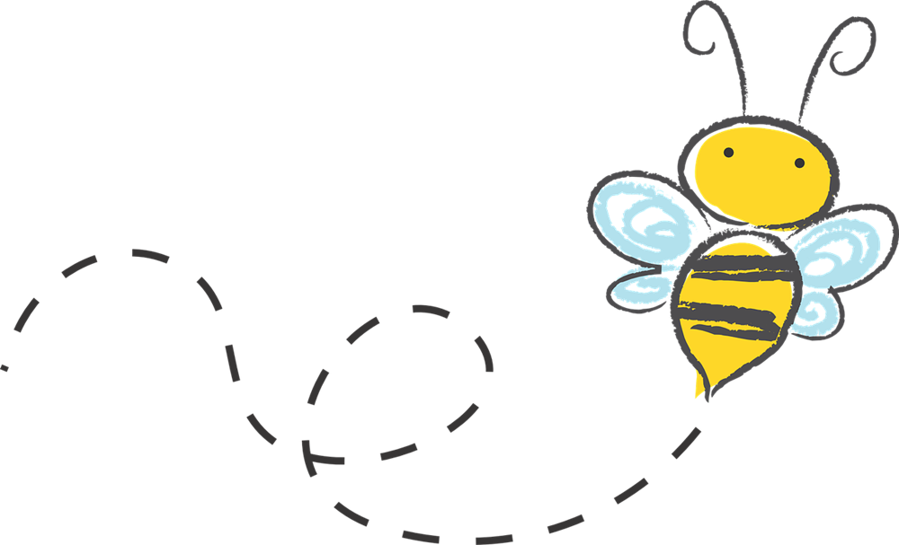 Cartoon bumble bee clipart images picture free stock Free Bee Border Cliparts, Download Free Clip Art, Free Clip Art on ... picture free stock