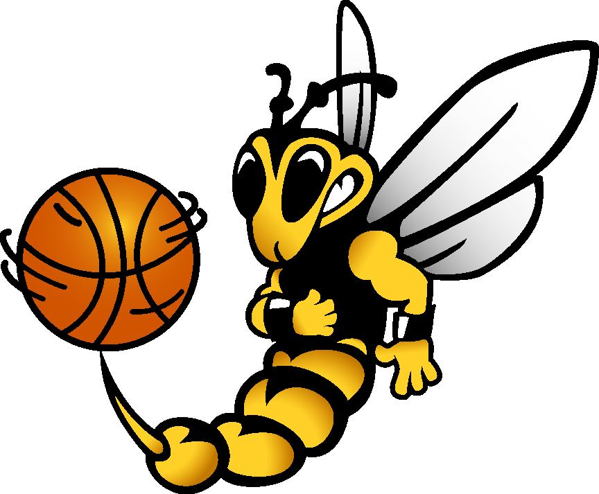 Bee playing basketball clipart clipart black and white download Mens\' Basketball - New - University of Wisconsin Superior - Superior ... clipart black and white download