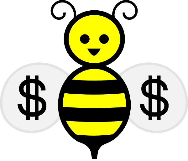 Bee pollinating flower clipart svg freeuse library What's All the Buzz About Honey Bees? | Totally Local VC svg freeuse library