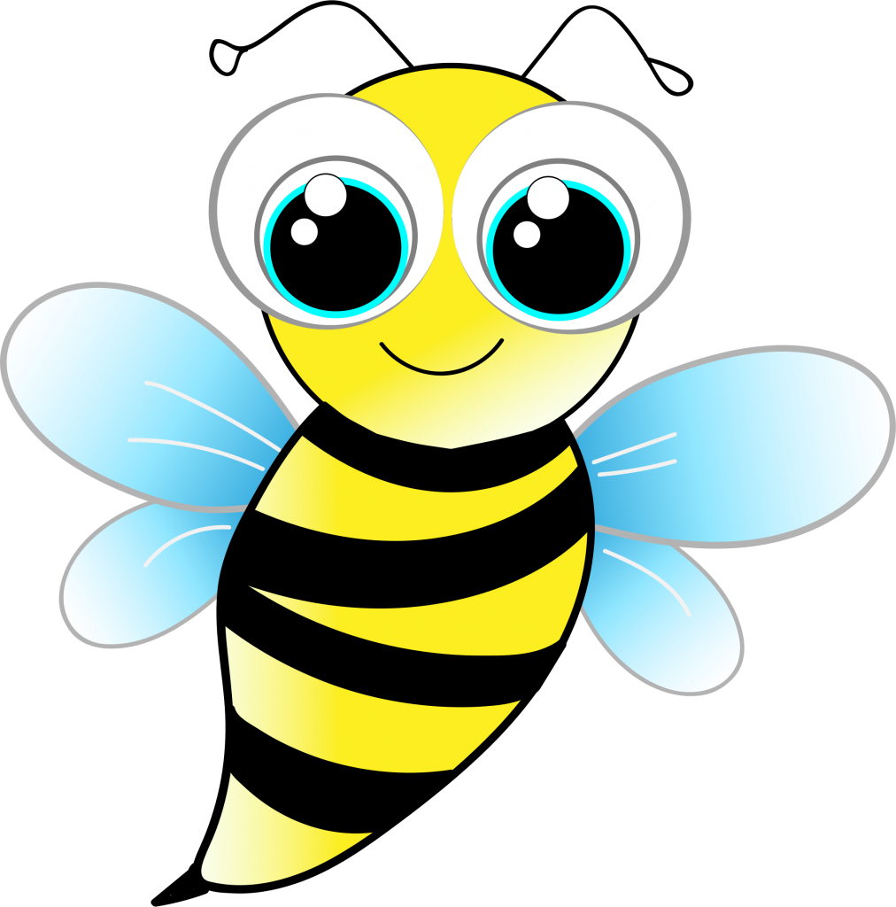 Bee pollinating flower clipart graphic royalty free stock Missing bees - Neev Magazine graphic royalty free stock