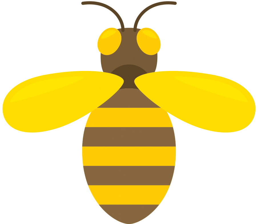 Bee pollinating flower clipart svg free library Bee Infographic - by Lindsey Pettit [Infographic] svg free library