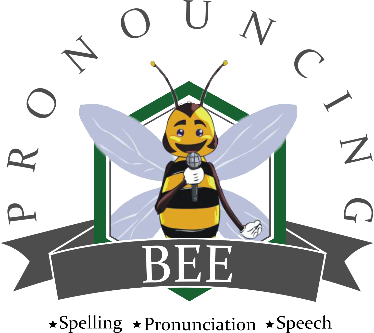 Bee taking a test clipart image library Take A Test | Pronouncing Bee image library