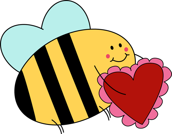 Bee valentine clipart banner royalty free library Bee Carrying Valentine Heart Clip Art - Bee Carrying Valentine Heart ... banner royalty free library