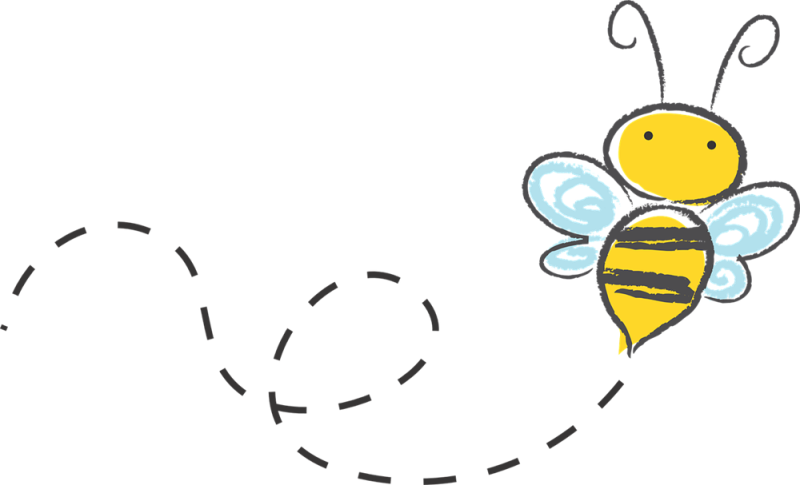 Bee with a banner clipart picture transparent stock Free Bee Clipart banner, Download Free Clip Art on Owips.com picture transparent stock