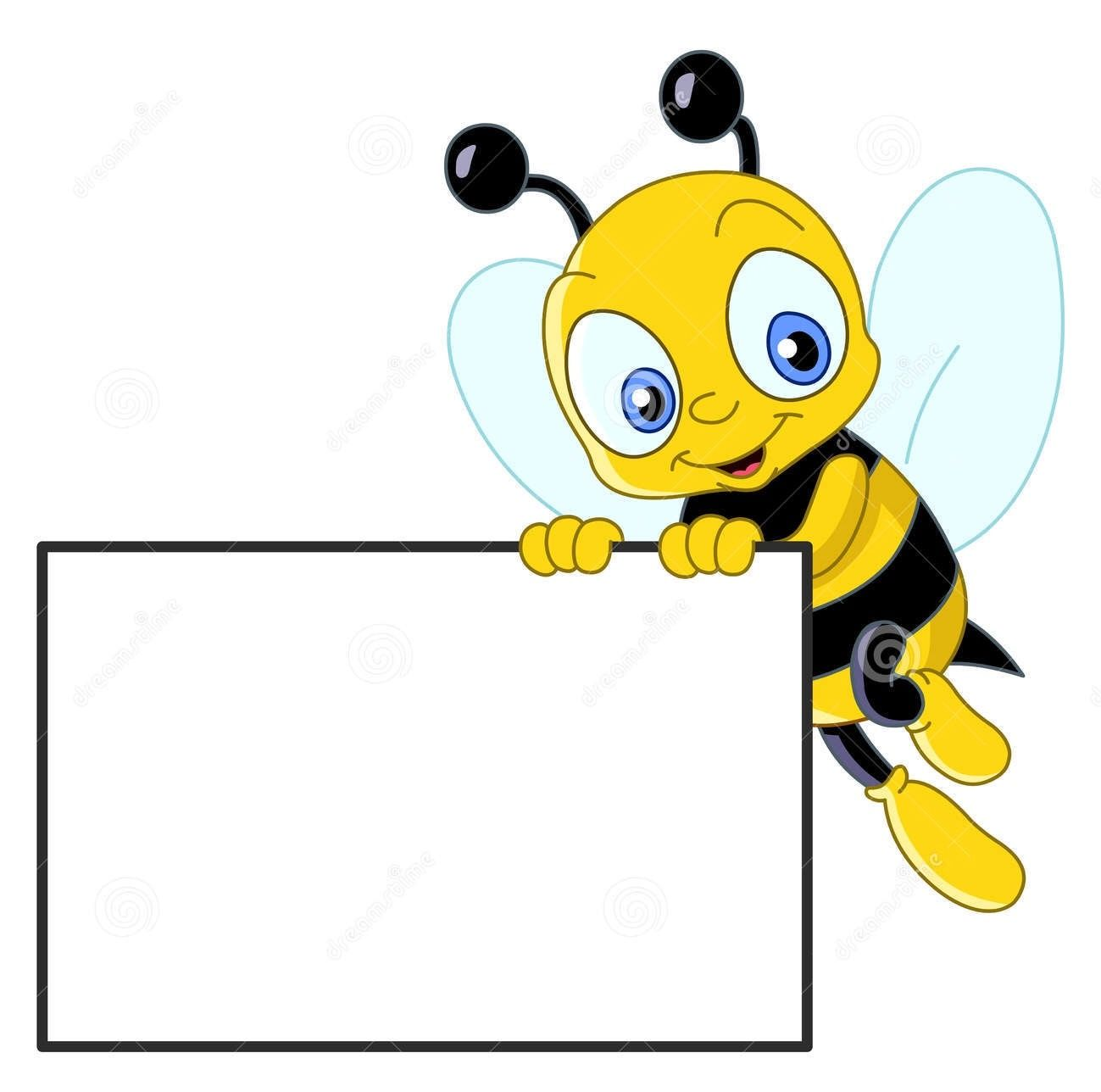 Bee with a banner clipart graphic freeuse library Bumblebee clipart banner, Bumblebee banner Transparent FREE for ... graphic freeuse library
