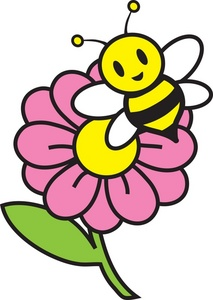 Bee with a rose clipart jpg transparent library Free Free Honey Bee Pictures 0071-0905-2918-5255 | Pictures Flowers jpg transparent library