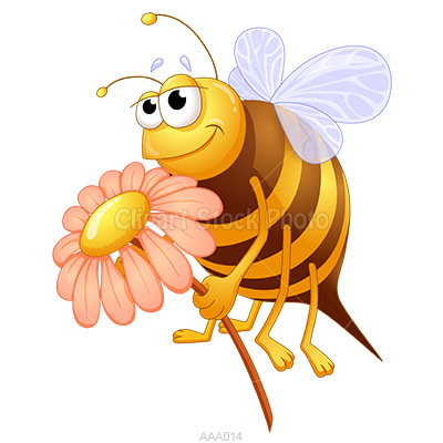 Bee with a rose clipart graphic royalty free Free Bees Images, Download Free Clip Art, Free Clip Art on Clipart ... graphic royalty free