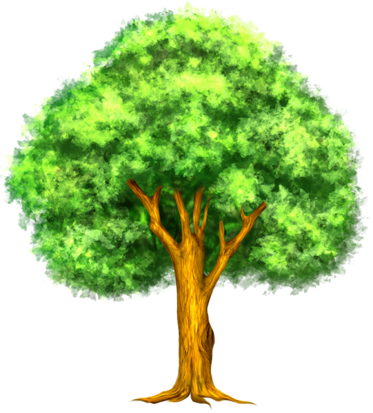 Tree of life lds clipart clip freeuse stock Green Painted Tree Clipart | Tree Art | Pinterest | Tree clipart ... clip freeuse stock