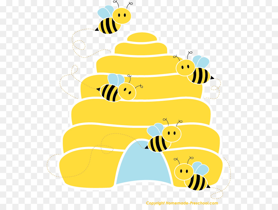 Beehive bee clipart svg free stock Beehive Bumblebee Clip art - bees clipart png download - 597*665 ... svg free stock