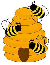 Beehive bee clipart vector library download home free clipart bee clipart beehive bees - Clip Art Library vector library download