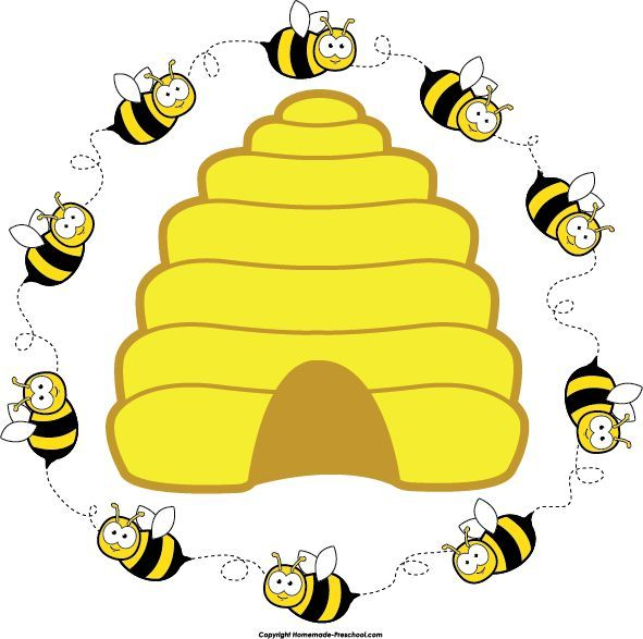 Beehive bee clipart clip art transparent library Preschool bee home free clipart bee clipart beehive bee circle 2 ... clip art transparent library