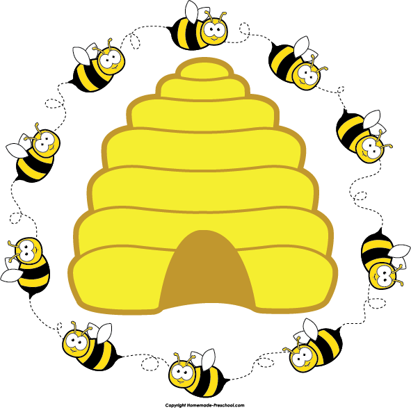 Beehive from tree clipart image transparent Beehive in tree clipart - ClipartFox image transparent