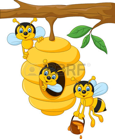 Beehive from tree clipart graphic black and white 7,945 Beehive Stock Illustrations, Cliparts And Royalty Free ... graphic black and white
