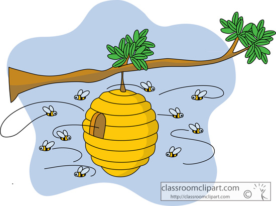 Beehive homes clipart picture library Collection Of 14 Free Hive Clipart Animal Home Bamboo Sign ... picture library