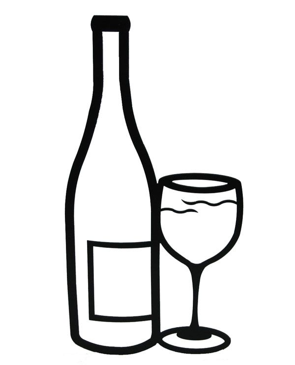 Black and white alcohol clipart graphic freeuse download beer mug drawings - Google Search | wood art ideas | Wine glass ... graphic freeuse download