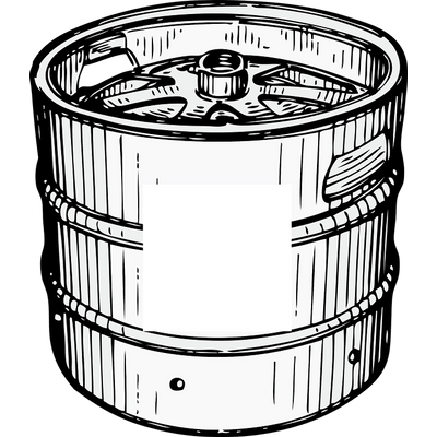 Beer barrel clipart drawing graphic library Keg Drawing at PaintingValley.com | Explore collection of Keg Drawing graphic library