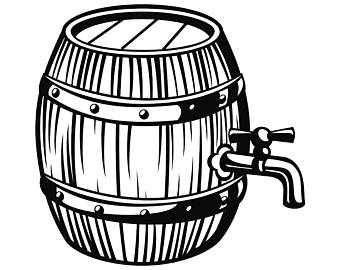 Beer barrel clipart drawing graphic royalty free Beer, Drawing, Bar, Illustration, Line, Product, Font png clipart ... graphic royalty free