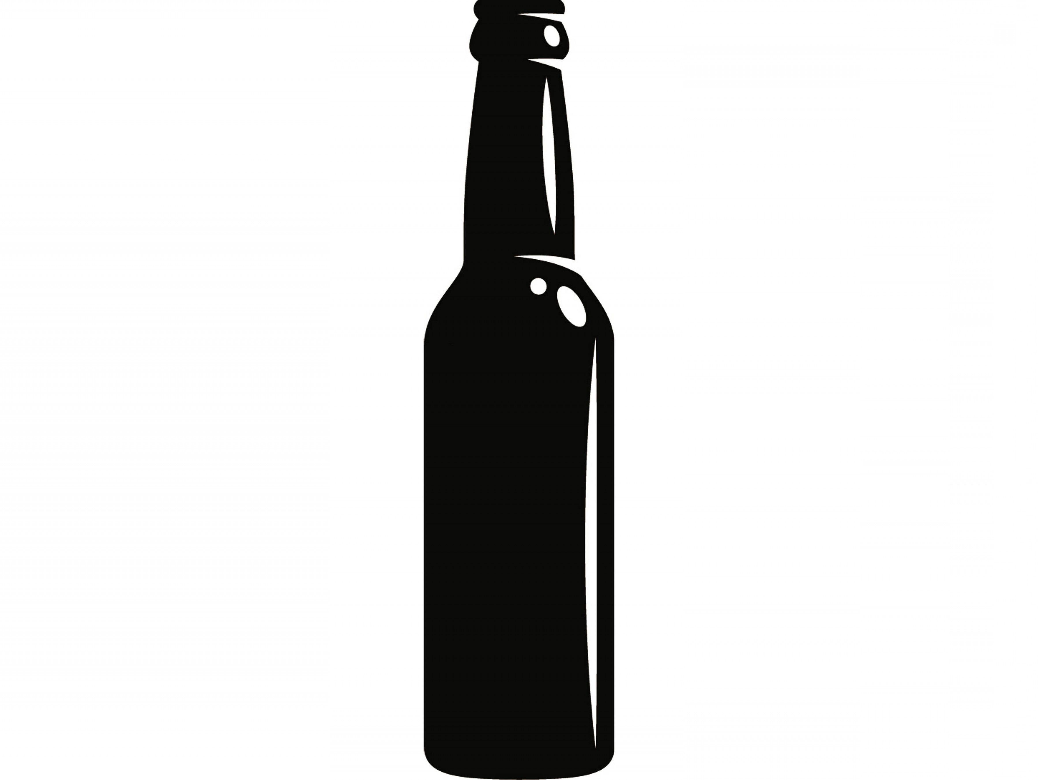 Beer bottle cheers clipart black and white clipart freeuse Beer Bottle Open Bar Pub Tavern | SOIDERGI clipart freeuse