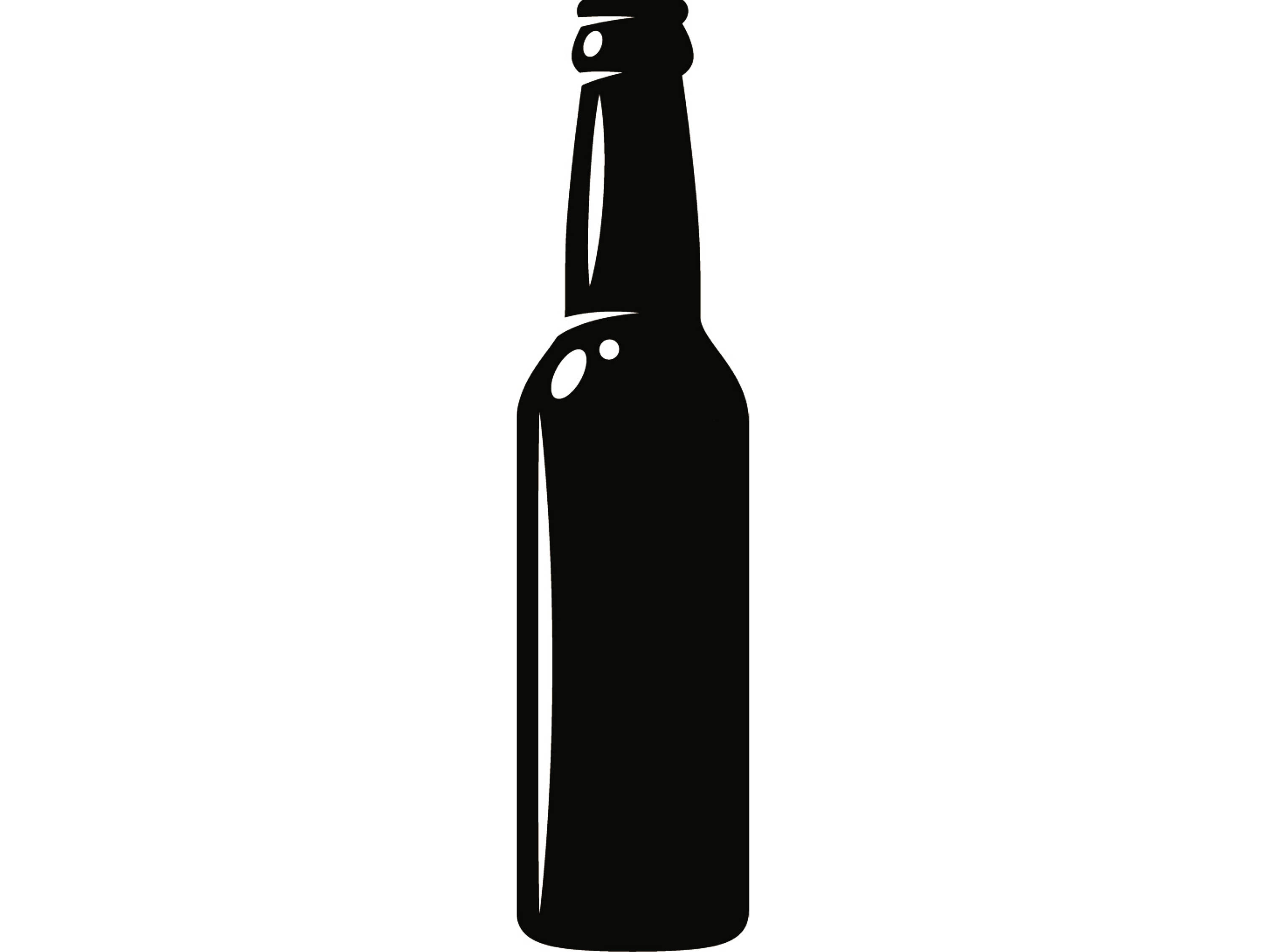 Beer bottle clipart black and white freeuse library Beer Bottle Clipart | Free download best Beer Bottle Clipart on ... freeuse library
