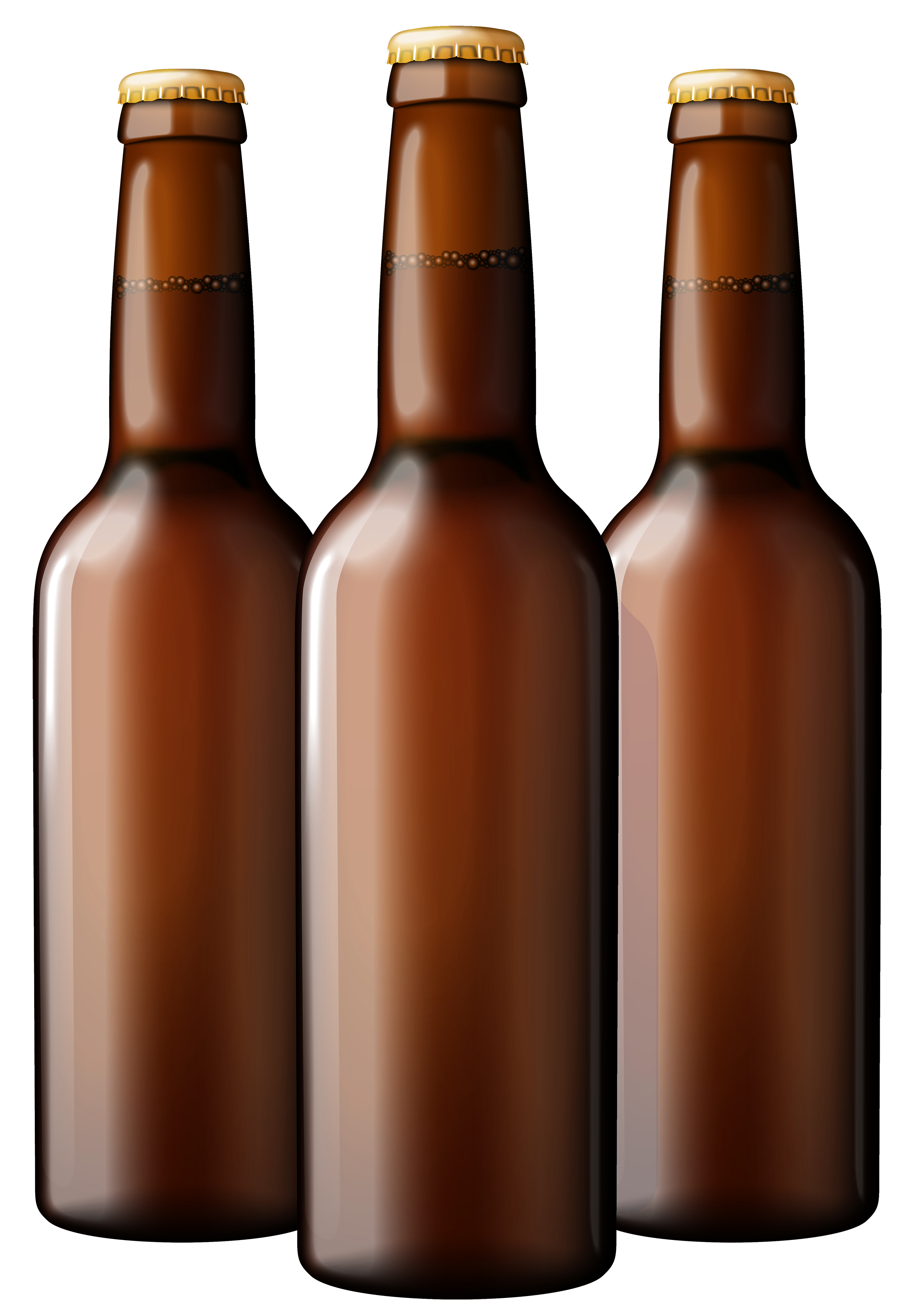 Beer bottle with his in it clipart png transparent library Brown Beer Bottles PNG Clipart - Best WEB Clipart png transparent library