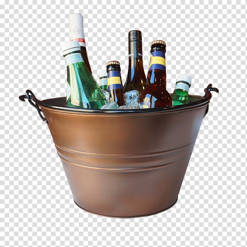 Beer bucket clipart png library download Beer Bucket Alcoholic drink plastic, beer transparent background PNG ... png library download