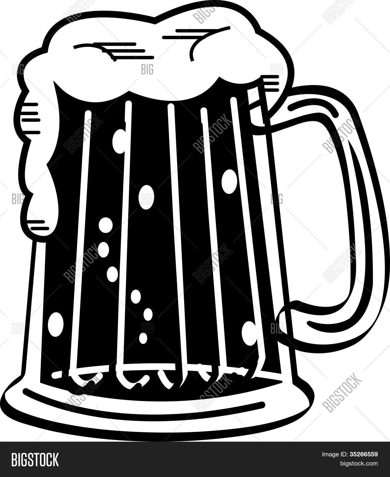 Beer clipart black and white picture black and white library Beer Clip Art Black And White | Clipart Panda - Free Clipart Images picture black and white library