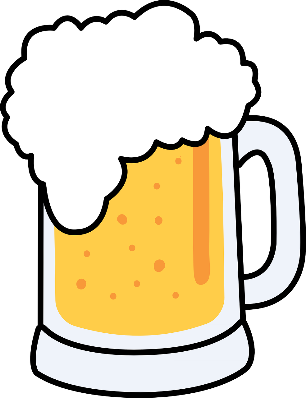 Beer mugs comic clipart free jpg library download Beer free to use clip art - ClipartBarn jpg library download