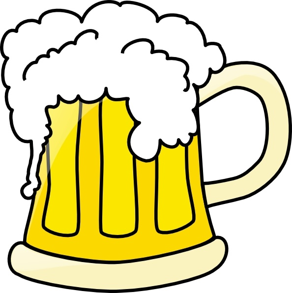 Beer stein clipart free picture free library Beer Mug clip art Free vector in Open office drawing svg ( .svg ... picture free library