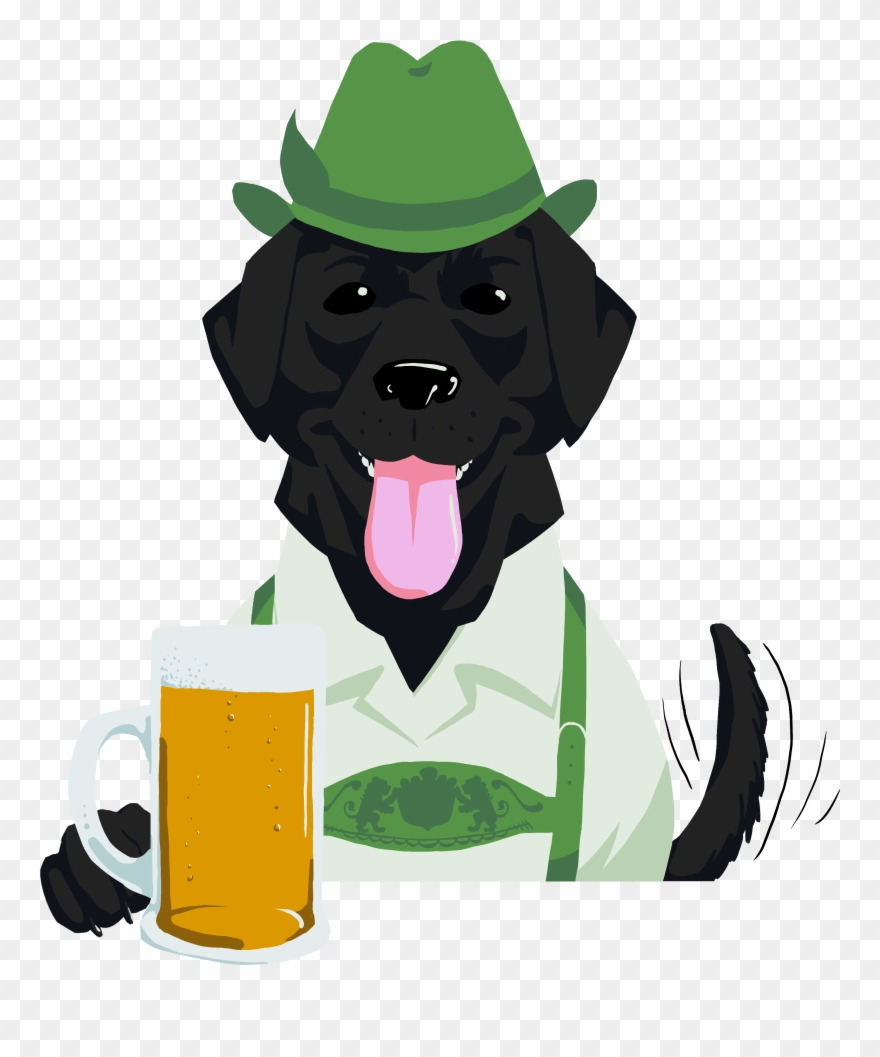 Beer dog clipart svg library download Dog-tober Beer Fest & Brat Party Clipart (#2957490) - PinClipart svg library download