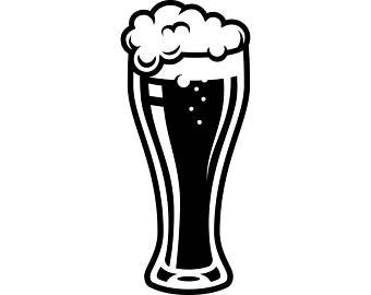 Beer glasses clipart black white black and white download Beer Glass Clipart Black And White (94+ images in Collection) Page 2 black and white download