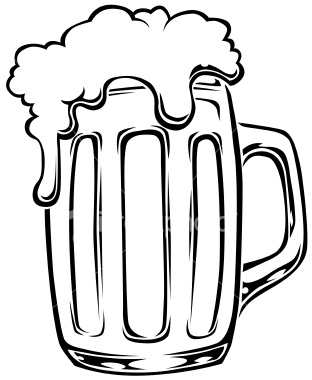 Beer stein clipart black and white png royalty free library Beer mug black and white clipart kid 2 - Cliparting.com png royalty free library
