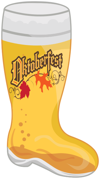 Beer in shoe clipart png free download beer boot oktoberfest - /recreation/party/Oktoberfest ... png free download